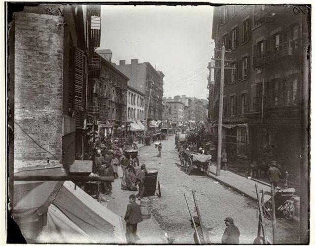 1890年代ニューヨークのスラム街 > ロウアー・マンハッタンのマルベリー・ベンド