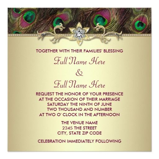 246 best indian wedding invitations images on pinterest indian Indian Wedding Invitations Green Street plum and emerald green gold peacock wedding invites indian wedding invitations green street