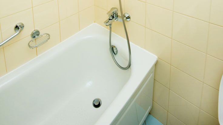Dusche Glaswand Kalk : Kalk auf der Glasduschwand, Kalk in der Badewanne, Kalk im Waschbecken