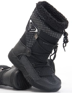 Roxy Terry Snow boot - Black: Amazon.co.uk: Shoes & Accessories
