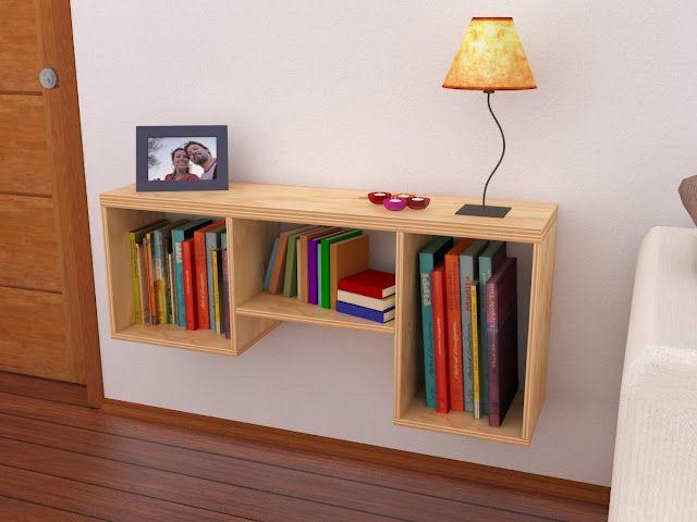 repisa madera (Wood Shelf)  http://maderistica.blogspot.com/ (Diy Decoracion Minimalista)