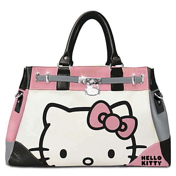 Hello Kitty Face Of Fashion Handbag