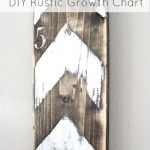 DIY Rustic Growth Chart---my next project...this is a must.  so cute!
