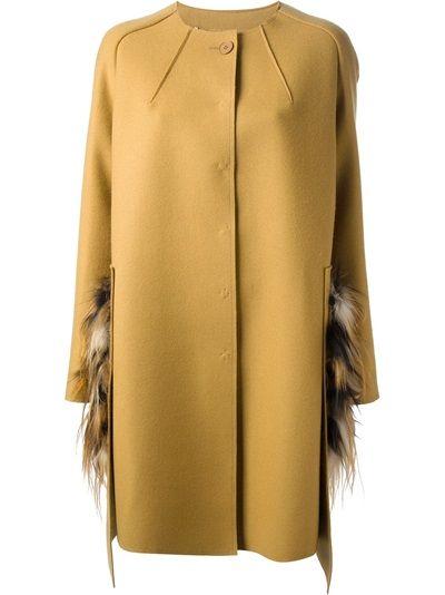 FENDI Fur Pocket Coat #wonderfulstore