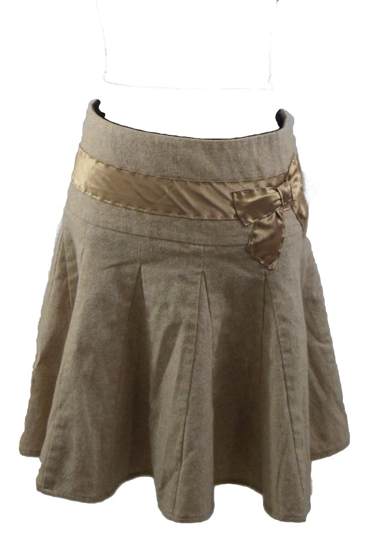 Arden B Skirt with Gold Bow