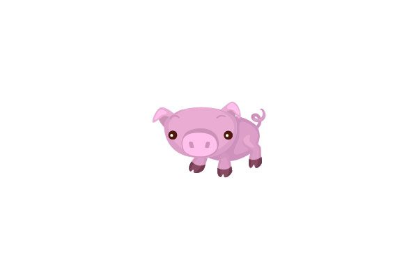 Pig Vector Graphics #farmvector #pigvector #vectorpack http://www.vectorvice.com/farm-vector