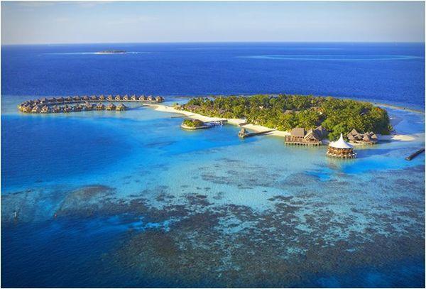 The peaceful Baros Maldives resort