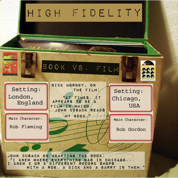 a review of nick hornbys book high fidelity Booktopia has high fidelity by nick hornby buy a discounted paperback of high fidelity online from australia's leading online bookstore.