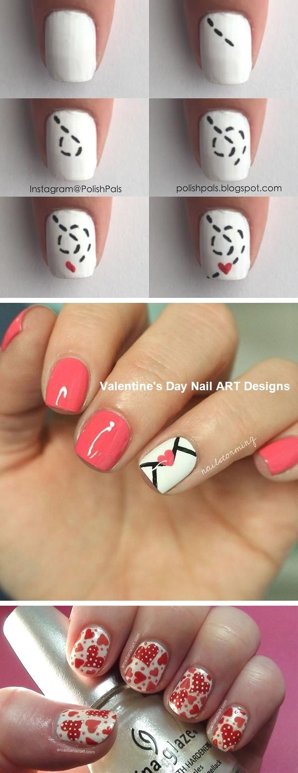 Best Nail Art Design Ideas for Valentines Day #nails #valentinesday