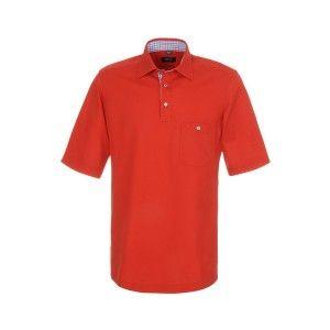 Polo Eterna  De Modern Fit(Red) overhemden van Eterna hebben allemaal een zeer stijlvolle, moderne, voorzichtige getailleerde pasvorm voor het lichaam. Mocht u enige twijfel hebben over de pasvorm dan bekijkt u even de maattabel of u neemt even contact op. Het logo is  fraai geborduurd op de manchet.   € 69,95