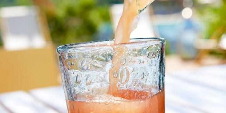 Cocktail fruité sans alcool