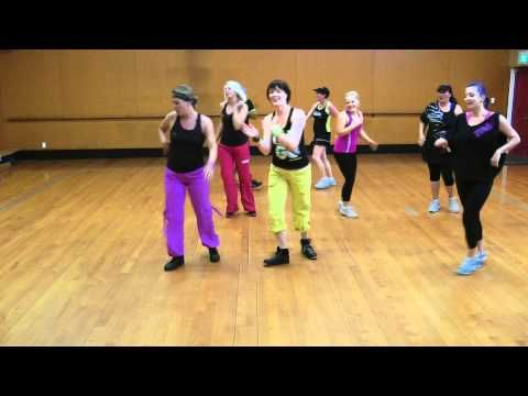 Probably the best Zumba warm-up. 8 minutes and it stretches you out to Micheal Jackson hits. :0)