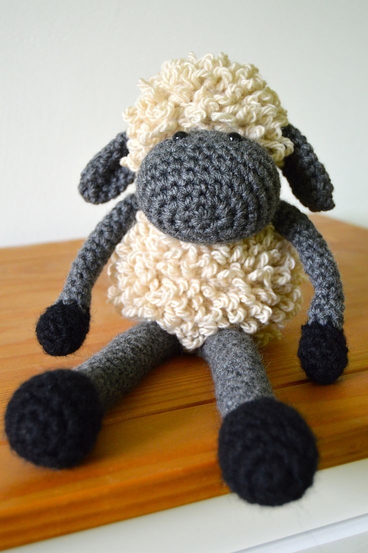Ravelry: Sheldon the Sheep by Curly Girl Coop