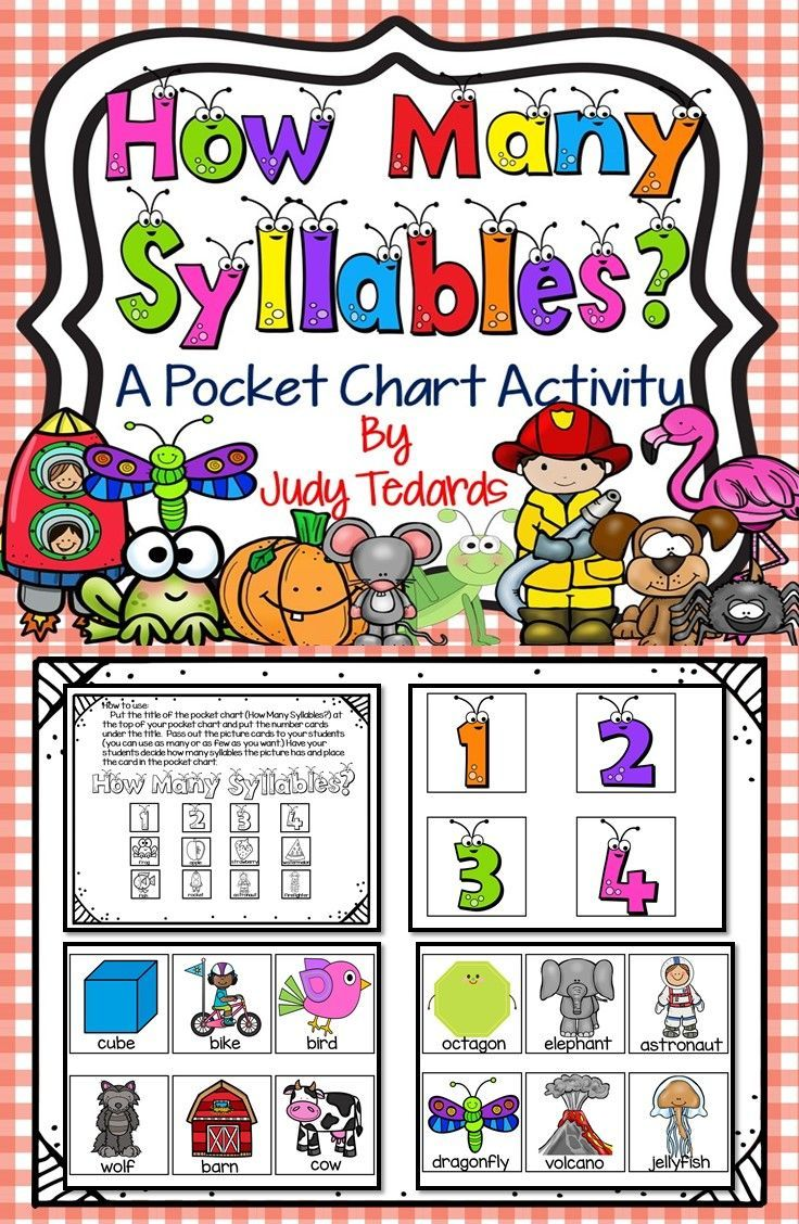 Premise Indicator Words: 52 Best Images About Syllables On Pinterest