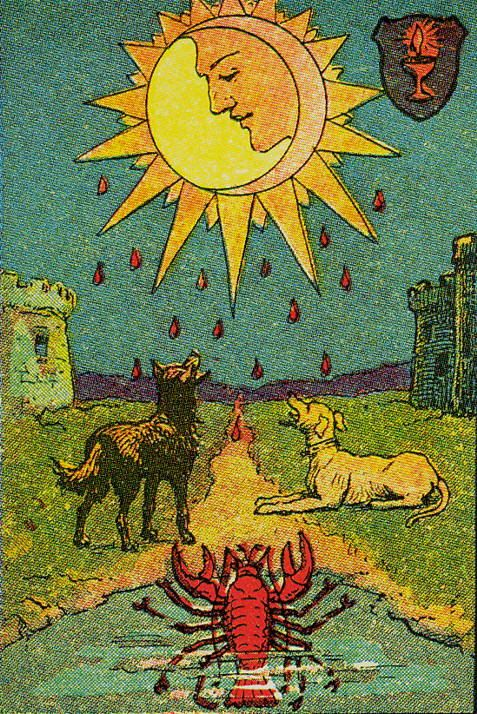 Major Arcana Tarot Card Meaning According To: 135 Best The Moon Images On Pinterest