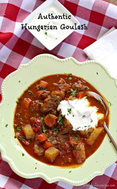 Hungarian goulash can be served as a stew or as soup, depending how much water you add to the goulash. The traditional Hungarian spices are what give this Goulash authentic and robust flavour. When serving the goulash as a stew traditionally you would add pasta, in this case, gluten free pasta. Enjoy!