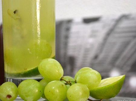 Caipirinha de Uva com Limão - Veja como fazer em: http://cybercook.com.br/receita-de-caipirinha-de-uva-com-limao-r-9-19527.html?pinterest-rec