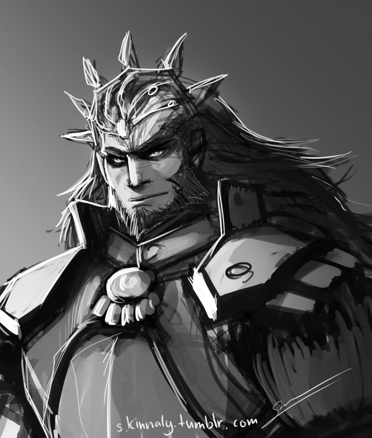 A quick sketch of the infamous Demon King Ganondorf. I swear I think it's the hair that really got my attention. :3 - credit to s-kinnaly.tumblr.com