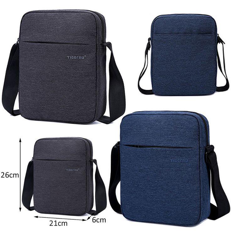 Tigernu Waterproof Messenger Bag Men'S Handbag High Quality Men Shoulder Bag