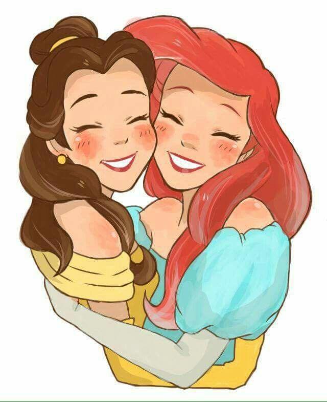 Minhas duas princesas favoritas *-*