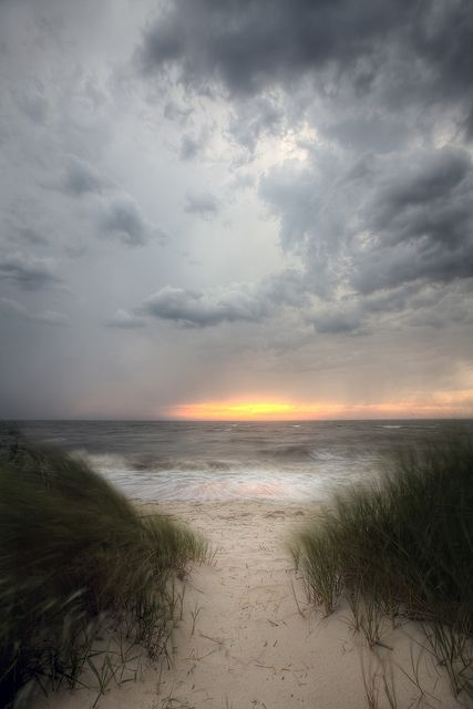 Storm over the Beach