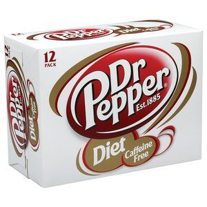 Caffeine Free Diet Dr Pepper Soda, 12 pack!! I can't find this kind of soda in York, PA :(