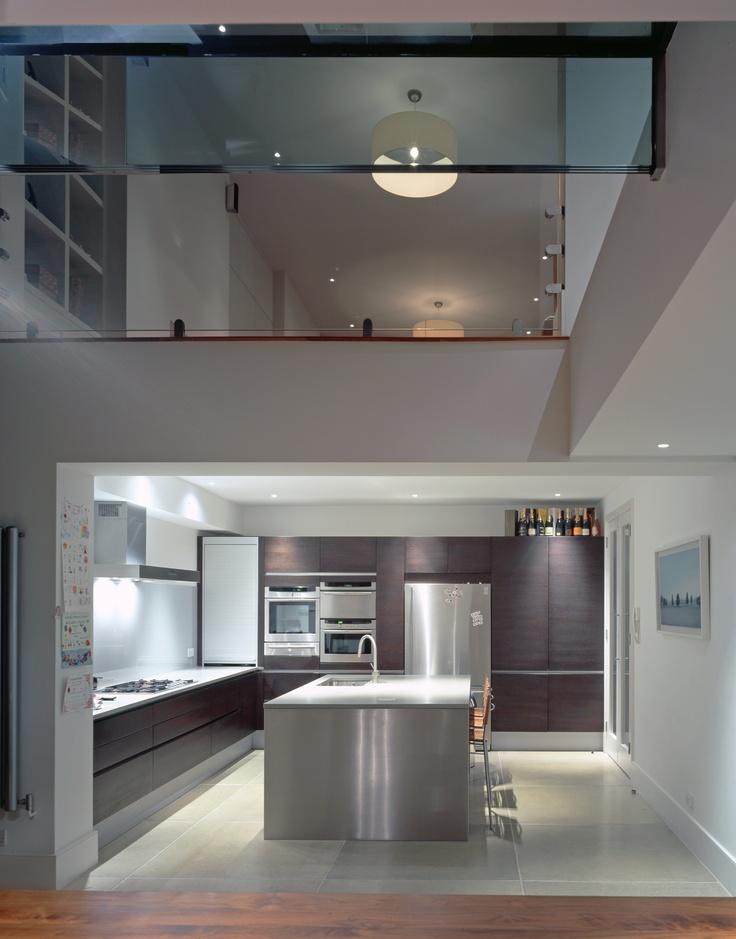 11 best split level mezzanines images on pinterest for Split level extension ideas