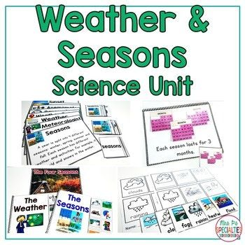 This science unit is designed for special education students who need visual supports, more practice and repetition than traditional science curriculum offers. This unit has hands on tasks that our students need in order