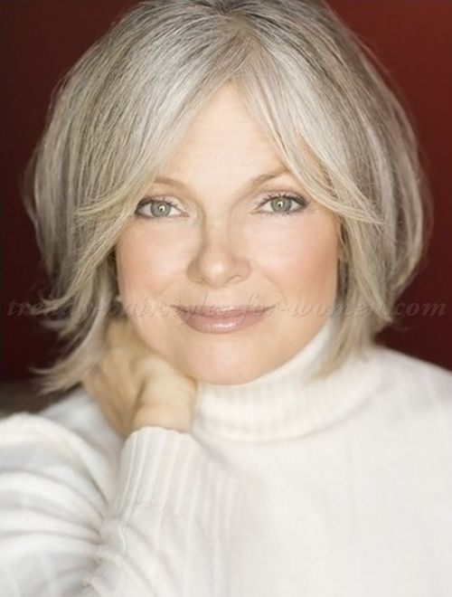 short hairstyles for women over 50 - bob hairstyle for women over 50|trendy-hairstyles-for-women.com