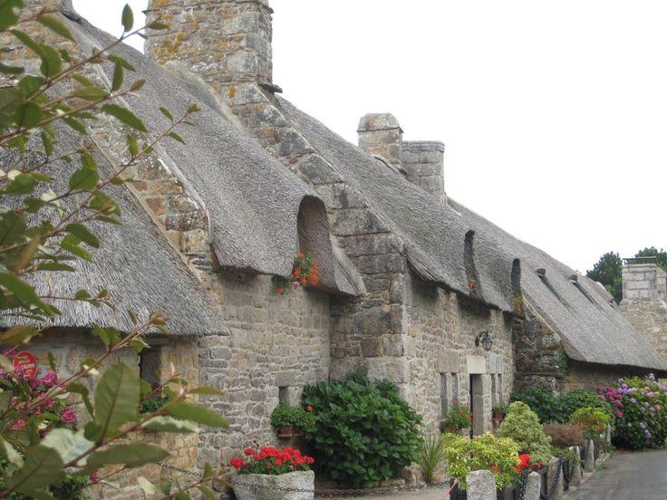Maison de chaume, Kerascoët, Névez | Finistère Bretagne