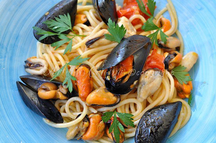 Spaghetti alle cozze primo piatto estivo   Arte in Cucina