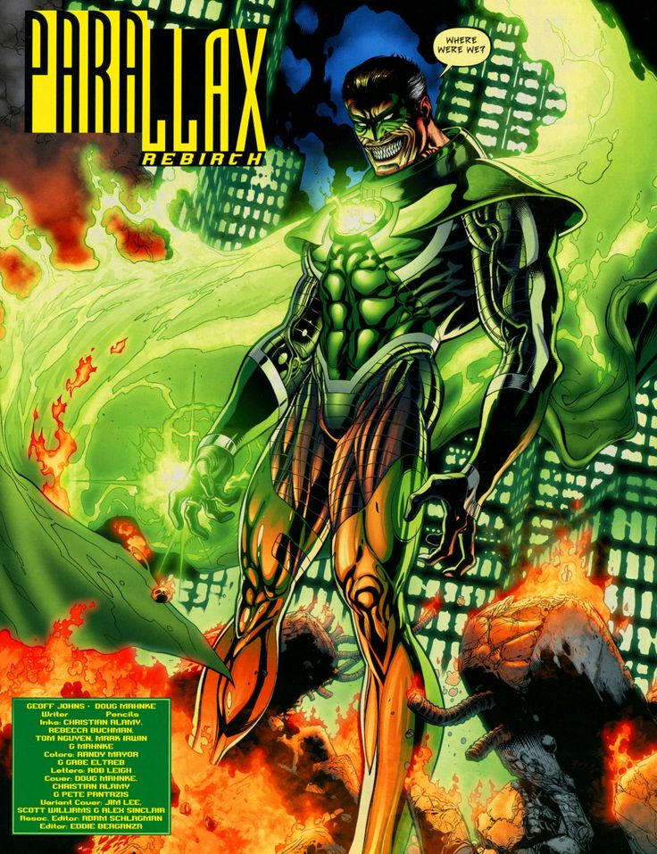 I know it was EXTREMELY controversial but does anyone else miss Parallax Hal? Or at least a version of him like in N52?