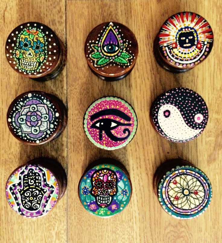Hand painted trinkets