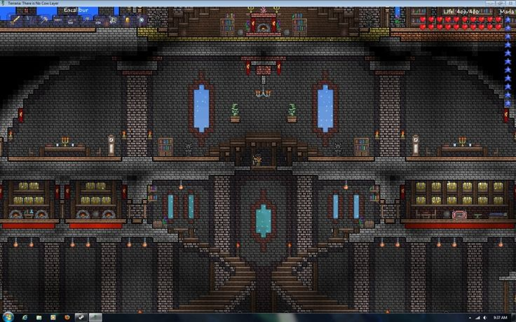 More impresive interiors terraria pinterest house for Terraria house designs