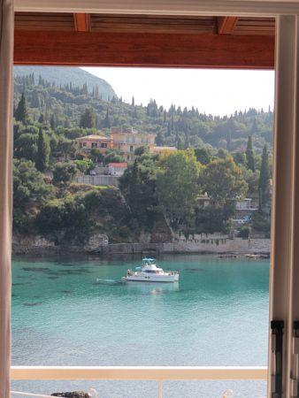 an open door to Paleokastritsa by Septimiu Catona