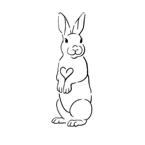 Semi Permanent Tattoo, Rabbit