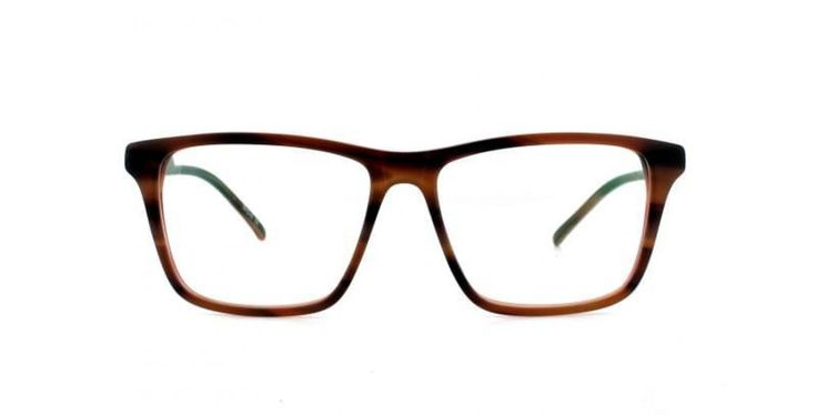 HORIZONTAL I Our white t-shirt of frames. You can´t go wrong with this simple laid-back look. Looks great on both men and women and is the easiest frame to reach for on those days when you just want an easy life.  Here in a fantastic shade of mid brown.
