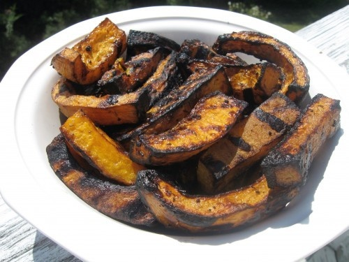 Garlic Balsamic Grilled Butternut | Recipes to try | Pinterest