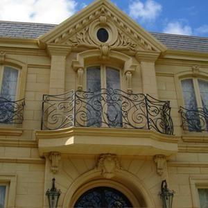 Chateau balcony