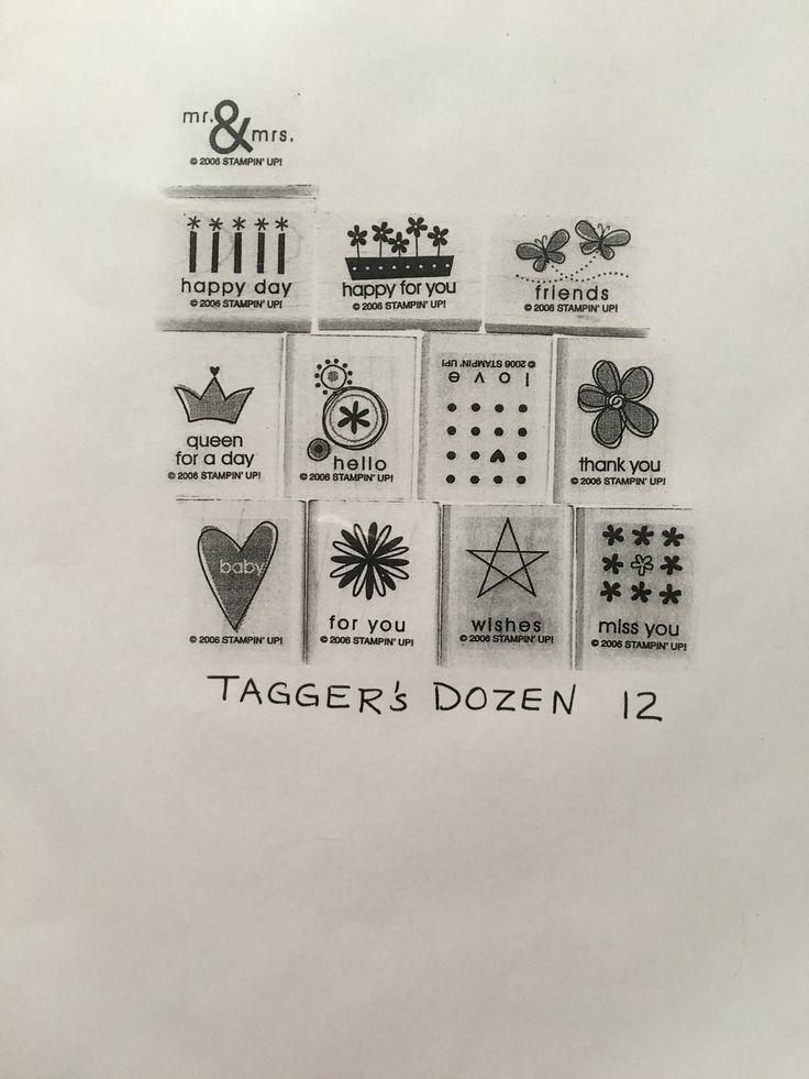 Tagger's Dozen