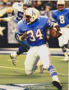 Earl Campbell Houston Oilers - the Tyler Rose