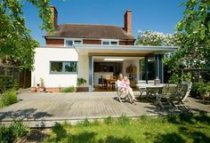 flat roof house extension