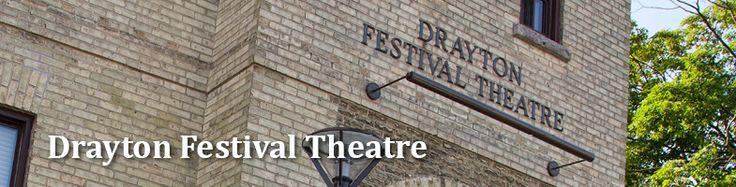 Drayton Festival Theatre | About
