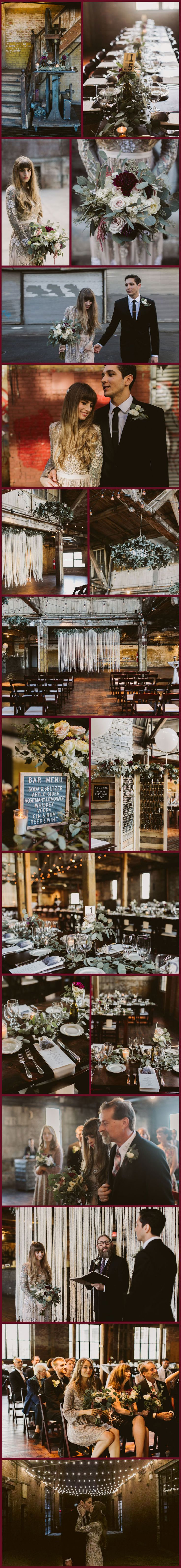 Featured FiftyFlowers Review: Fall Greenpoint Loft Wedding