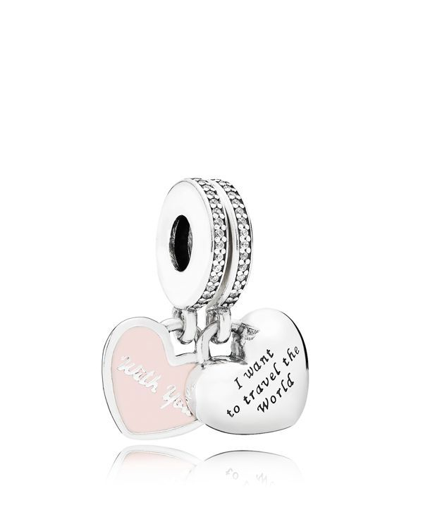 Best 25 pandora travel charms ideas on pinterest pandora charms pandora dangle charm sterling silver cubic zirconia enamel travel together forever moments sciox Choice Image
