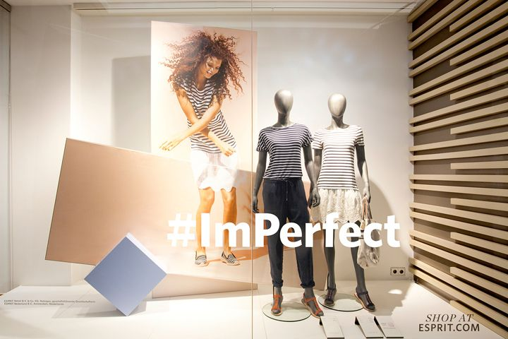 The window concepts show a positive feeling, motion, dance, sun and you can feel the rising temperature. The Esprit windows should do more than just inform, Deck5 wants to create displays that inspire and delight the Esprit customers.