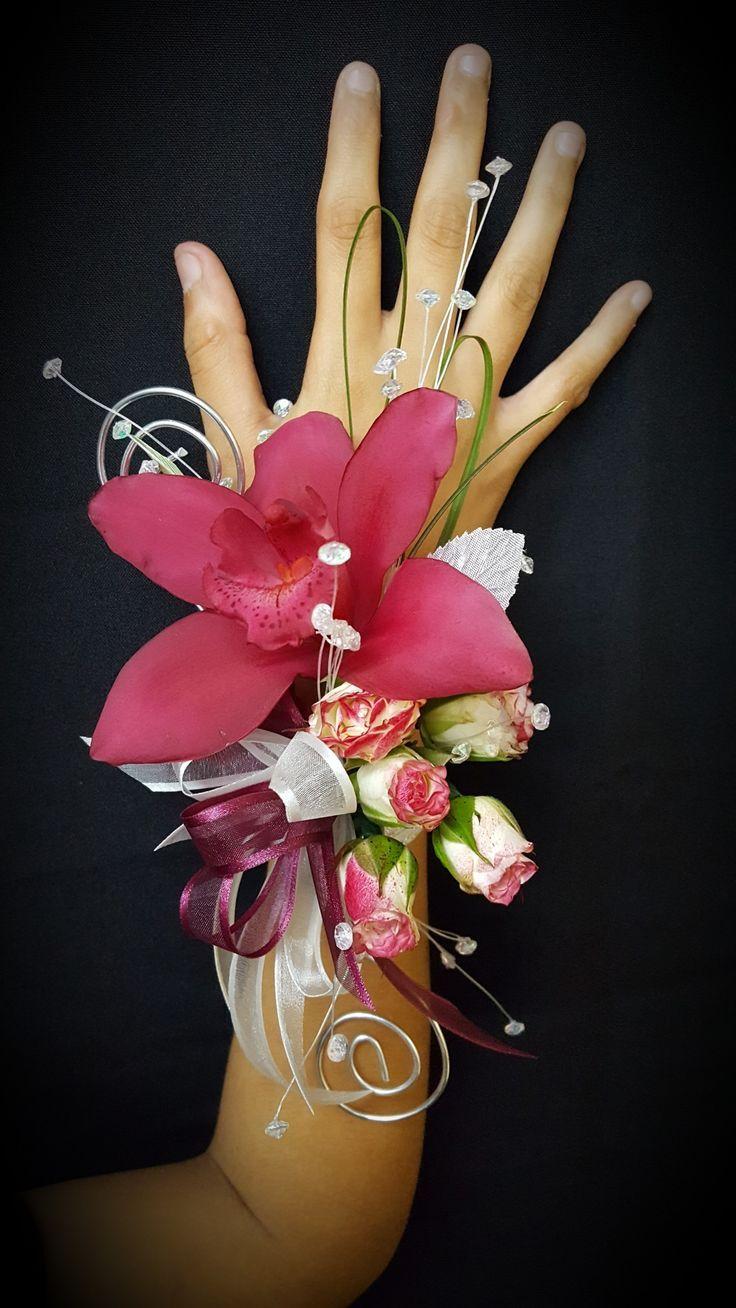 Cymbidium Orchid Corsage Prom Orchid Corsages Prom Corsage And Boutonniere Corsage And Boutonniere