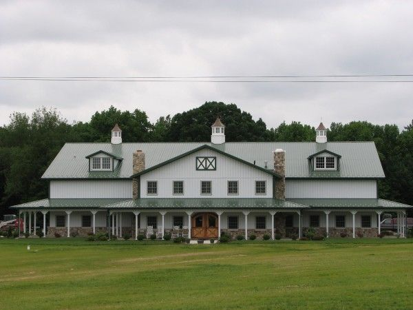 46 best pole barn images on pinterest pole building for Barn home builders indiana