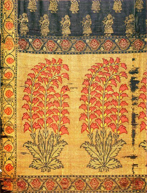 Indian textile, detail
