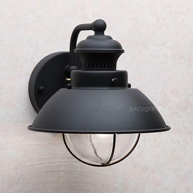 レトロな屋外ライト「キチラー社アンティークライト V-1581TB」 ポスト・表札通販のジューシーガーデン